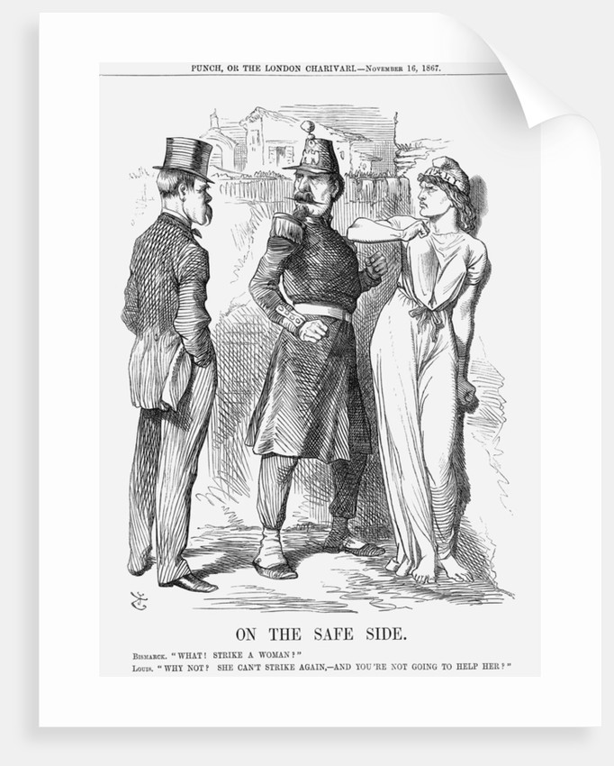 On The Safe Side by John Tenniel