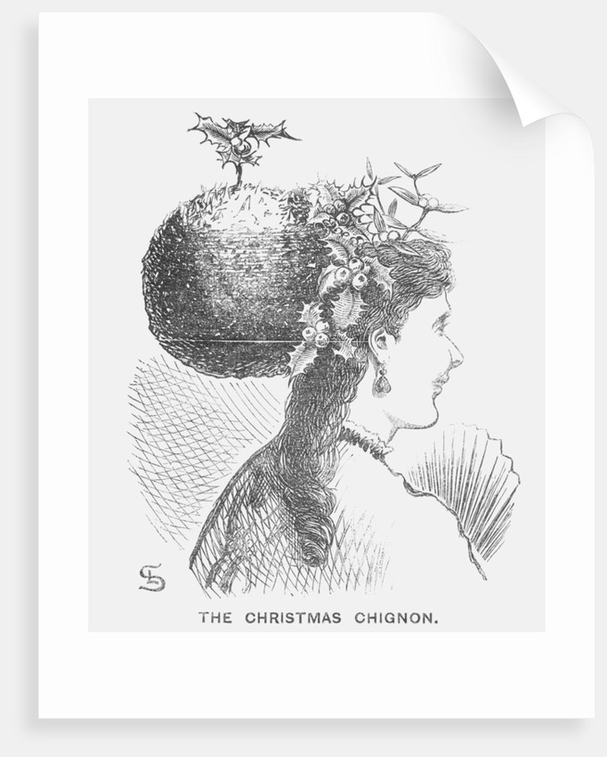 The Christmas Chignon by Edward Linley Sambourne