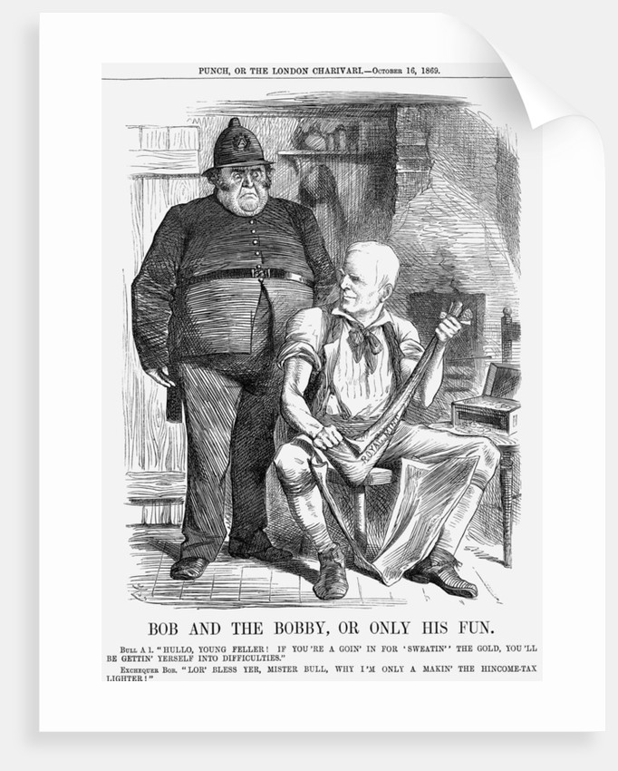 Bob and The Bobby, Or Only His Fun by Joseph Swain