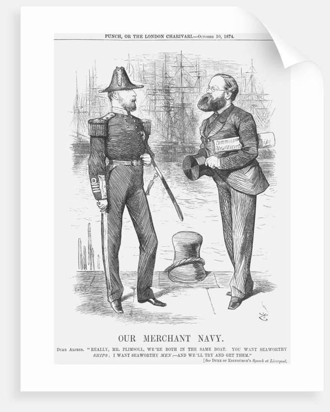 Our Merchant Navy by Joseph Swain