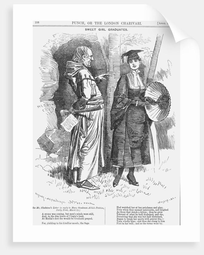 Sweet Girl Graduates by Joseph Swain