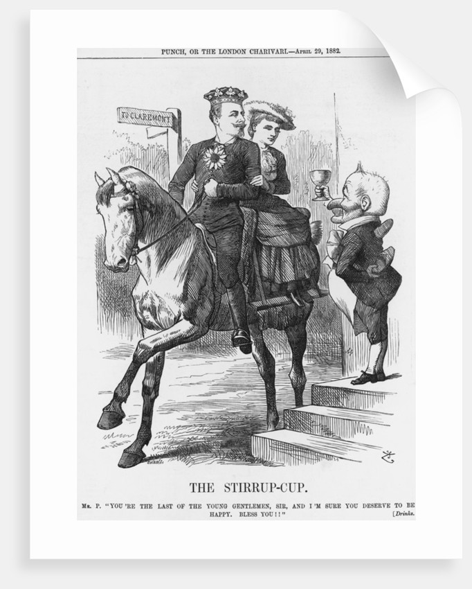 The Stirrup-cup by Joseph Swain