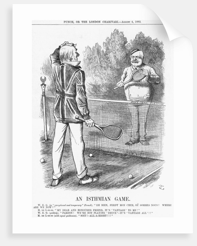 An Isthmian Game by Joseph Swain