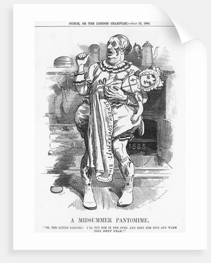 A Midsummer Pantomime by Joseph Swain