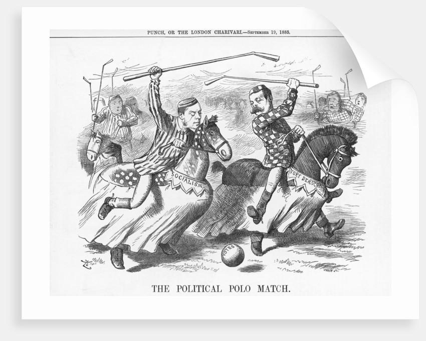The Political Polo Match by Joseph Swain
