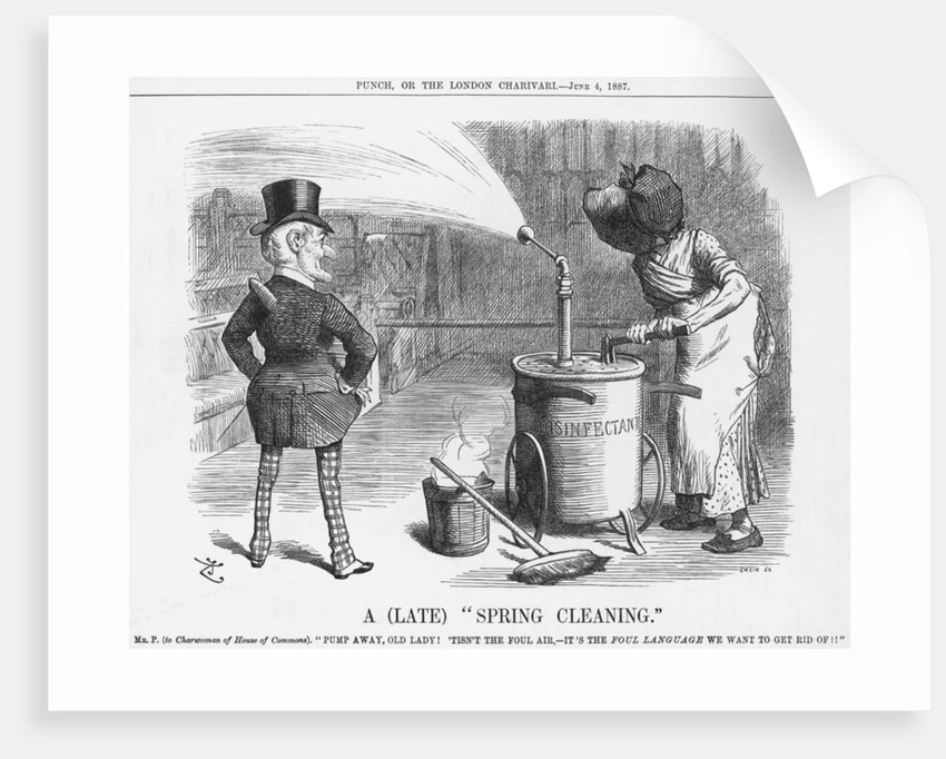 A Late Spring Cleaning by Joseph Swain