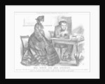 Mrs. North and Her Attorney by John Tenniel