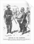 Banting in the Yeomanry by Charles Samuel Keene