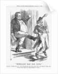 Rebellion Had Bad Luck by John Tenniel
