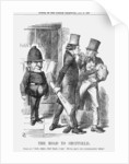 The Road to Sheffield by John Tenniel