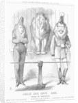 Great Lion Show by John Tenniel