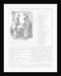 Distinguished Amateurs - The Hospital Nurse by George du Maurier