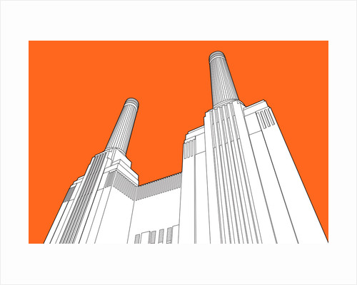 Battersea Power Station by People Will Always Need Plates