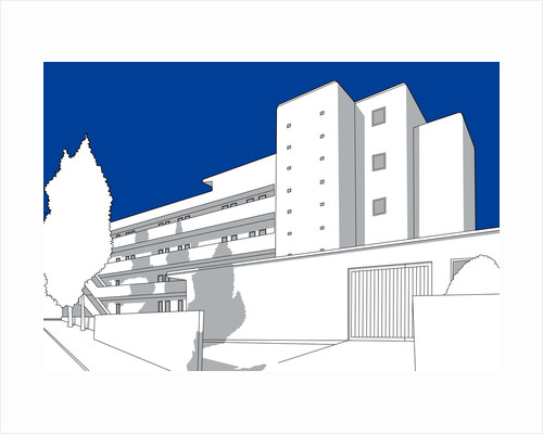 Isokon Building - Lawn Road by People Will Always Need Plates
