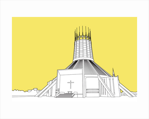 Metropolitan Cathedral of Christ the King - Liverpool by People Will Always Need Plates
