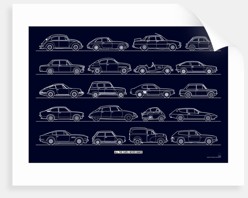 All the cars I (n)ever owned - classics by People Will Always Need Plates
