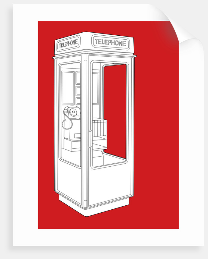 K8 Phonebox by People Will Always Need Plates