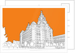 Royal Liver Building by People Will Always Need Plates