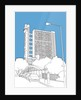 Trellick Tower by People Will Always Need Plates