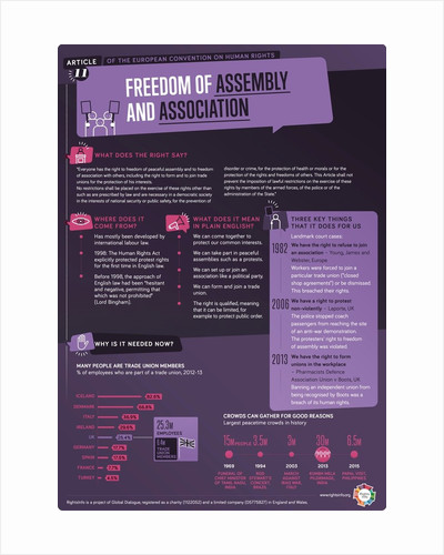 Article 11: Protest & Association by RightsInfo