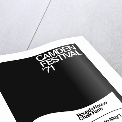 Camden Festival 71 (1971) by Anonymous