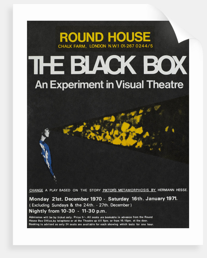 The Black Box: An Experiment in Visual Theatre (1970) by Anonymous