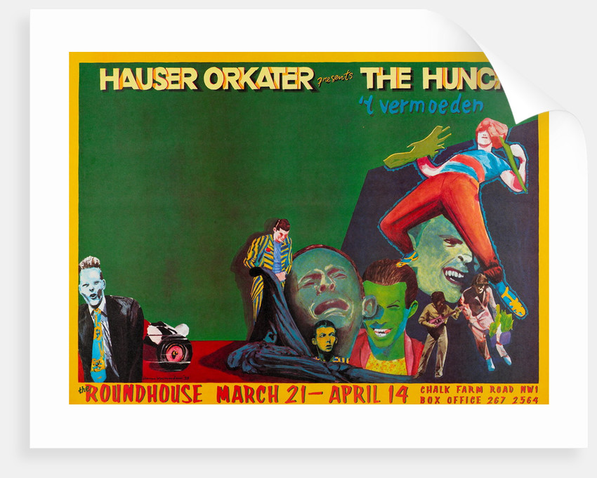 Hauser Orkater presents The Hunch by Anonymous