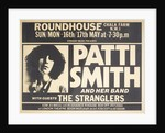 Patti Smith and The Stranglers by Anonymous