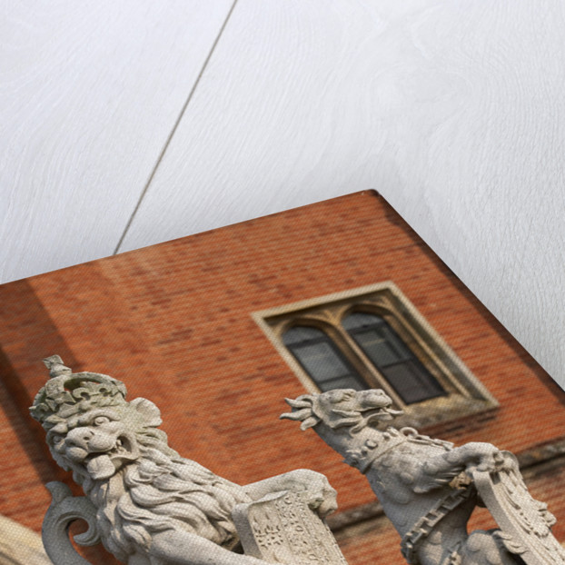 The King's Beasts, Hampton Court Palace by James Brittain
