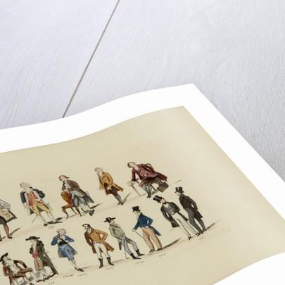Gentleman's fashion, 1787-1841 by Leopold Martin