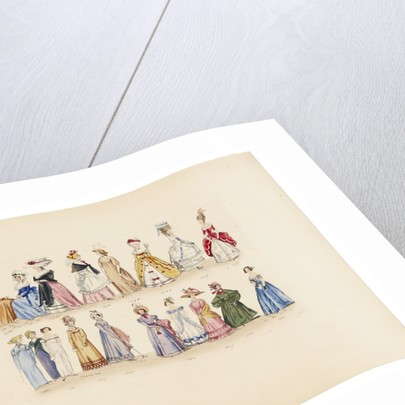 Women's fashion, 1786 to 1841 by Leopold Martin