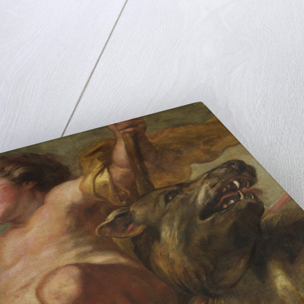 The Banqueting House ceiling by Peter Paul Rubens