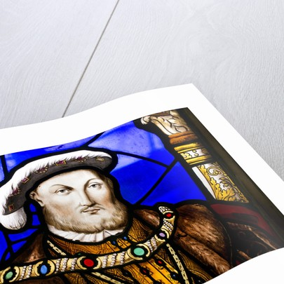 Henry VIII stained-glass window, Hampton Court Palace by Robin Forster