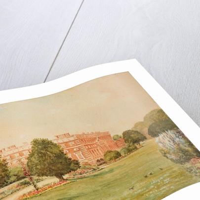 Hampton Court gardens, c1900 by D Moin