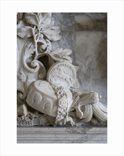 Marble chimneypiece, Hampton Court Palace by James Brittain