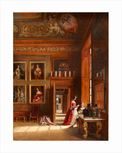 The King's Bedchamber, Hampton Court Palace by James Digman Wingfield