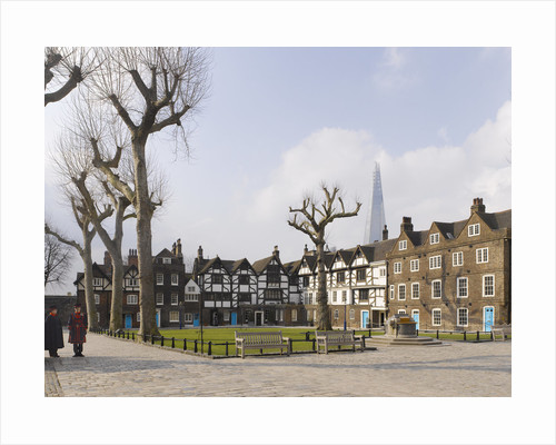 Tower Green, Tower of London by James Brittain