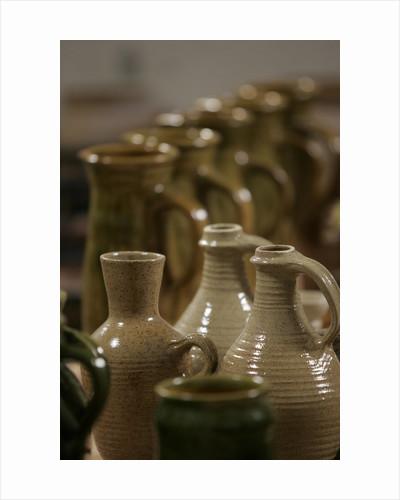 Tudor wine and beer jugs, Hampton Court Palace by Nick Guttridge
