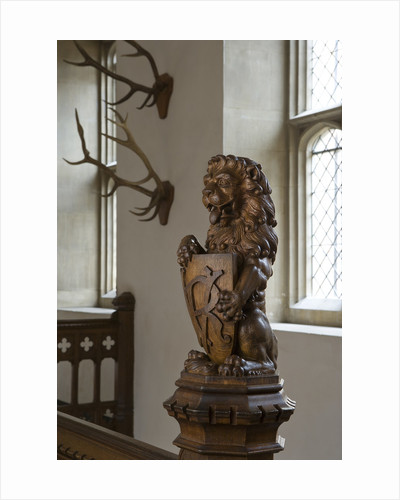 The Horn Room, Hampton Court Palace by James Brittain