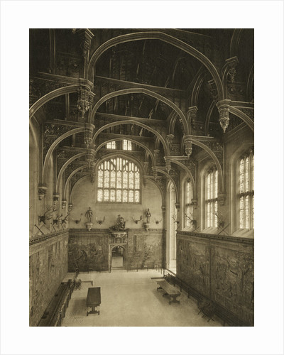 The Great Hall, Hampton Court Palace by Walter L Bourke