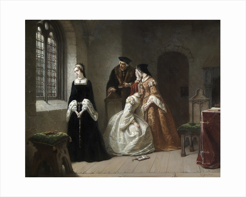 The Last Moments of Lady Jane Grey by Hendrik Jacobus Scholten