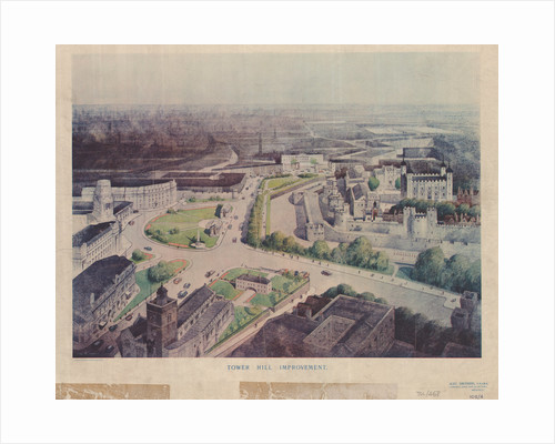 Tower Hill improvement, 1937 by Alex Smithers