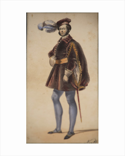 Thomas Knox, Lord Northland, in Tudor costume, 1842 by Unknown