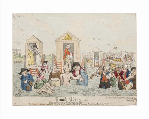 Royal Dipping, 1789 by John Nixon