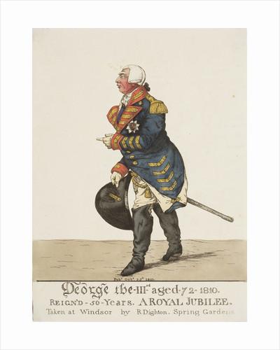King George III, 1810 by Robert Dighton