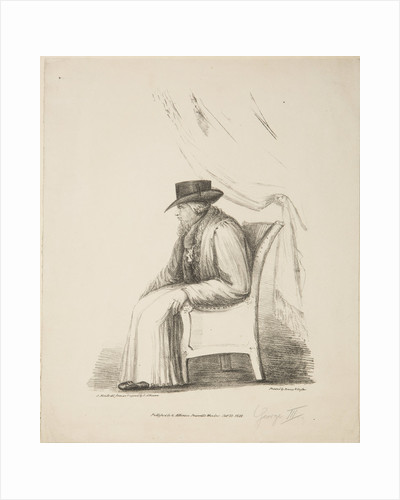 King George III, 1820 by Unknown