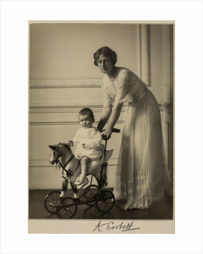 Princess Arthur of Connaught with her son, c1910 by Alexander Corbett