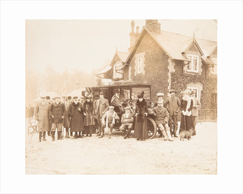 Royal shooting party, Sandringham, 1910 by Unknown