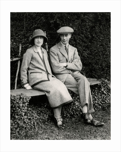 The Duke and Duchess of York on honeymoon, 1923 by Unknown