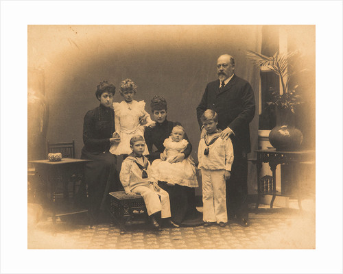 King Edward VII and his family, c1901 by Unknown